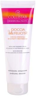 Collistar Benessere Della Felicitá Shower Cream With Essential Oils And Mediterranean Extracts