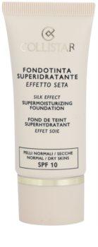 Collistar Foundation Supermoisturizing зволожуючий тональний крем SPF 10