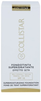 Collistar Foundation Supermoisturizing hydratačný make-up SPF 10