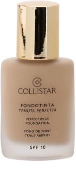 Collistar Foundation Perfect Wear водостійкий  рідкий тональний крем SPF 10