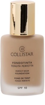 Collistar Foundation Perfect Wear vodeodolný tekutý make-up SPF 10