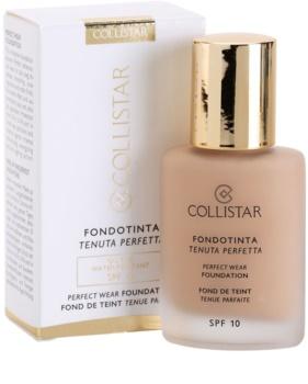 Collistar Foundation Perfect Wear vodootporni tekući make-up SPF 10