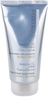Collistar Magica CC Voedende Toning Masker  voor Alle Blonde Haartypen