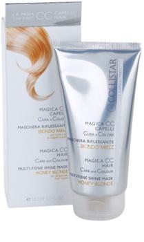 Collistar Magica CC odżywcza maseczka tonująca do wszystkich typów włosów  blond