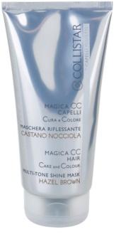 Collistar Magica CC masque colorant nourrissant pour cheveux châtains et blond foncé