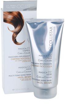 Collistar Magica CC odżywcza maseczka tonująca do włosów jasnobrązowych i w odcieniu ciemny blond