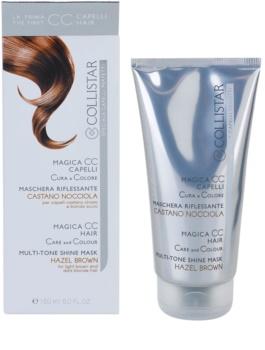 Collistar Magica CC máscara nutritiva com cor para o cabelo castanho claro e loiro escuro