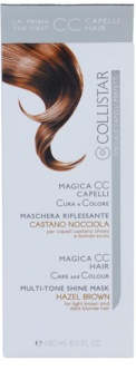 Collistar Magica CC mascarilla nutritiva con color  para cabello marrón claro y rubio oscuro