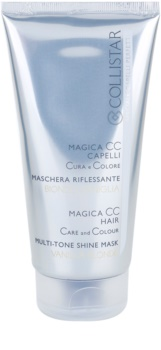 Collistar Magica CC máscara nutritiva com cor para cabelo loiro muito claro, com madeixas ou cabelo branco