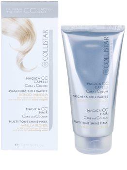 Collistar Magica CC nährende Tönungs-Maske für sehr helles Blond. melierte und weiße Haare