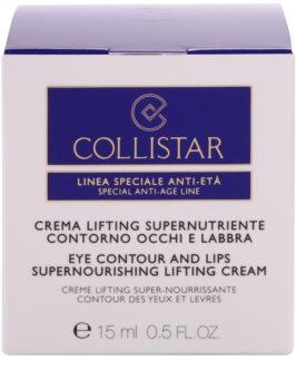Collistar Special Anti-Age vyživujúci liftingový krém na očné okolie a pery