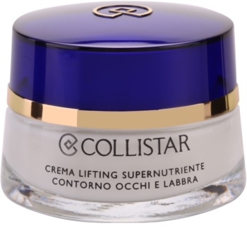 Collistar Special Anti-Age creme esfoliante hidratante para contornos dos olhos e lábios