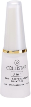Collistar Nails Base posilňujúci lak na nechty 3v1