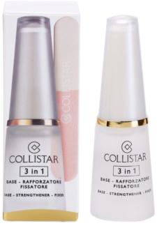 Collistar Nails Base відновлюючий  лак для нігтів 3в1
