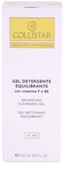 Collistar Special Combination And Oily Skins gel nettoyant à la vitamine F et B6