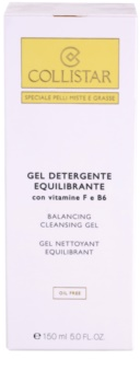Collistar Special Combination And Oily Skins żel oczyszczający z witaminą F i B6
