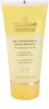 Collistar Special Combination And Oily Skins Reinigungsgel  mit Vitamin F und B6