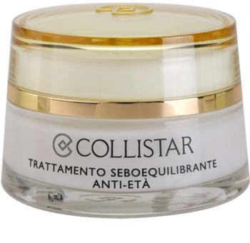 Collistar Special Combination And Oily Skins crema rejuvenecedora para regular el sebo cutáneo