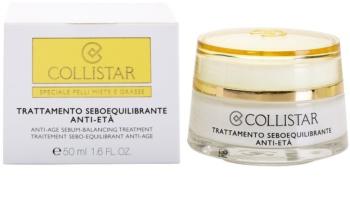 Collistar Special Combination And Oily Skins омолоджуючий крем для регуляції секреції шкірних залоз