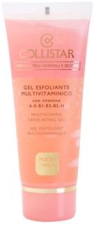 Collistar Special Active Moisture gel exfoliant pour peaux normales à sèches