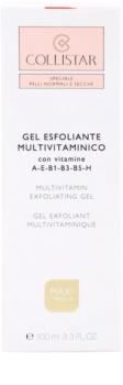Collistar Special Active Moisture exfoliační gel pro normální až suchou pleť