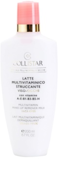 Collistar Special Active Moisture mleko za odstranjevanje ličil za normalno in suho kožo