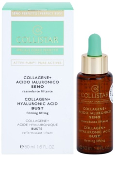 Collistar Pure Actives serum reafirmante para escote y busto con colágeno