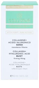 Collistar Pure Actives Ser de fermitate pentru bust si decolteu cu colagen