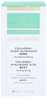 Collistar Pure Actives zpevňující sérum na dekolt a poprsí s kolagenem