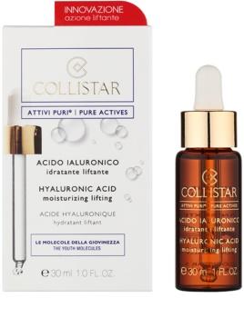 Collistar Pure Actives serum liftingujące do twarzy z kwasem hialuronowym