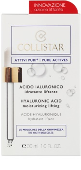 Collistar Pure Actives liftinges arcszérum hialuronsavval