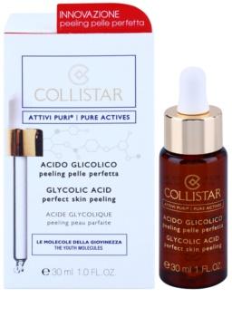 Collistar Pure Actives enzimatikus peeling glikolsavval
