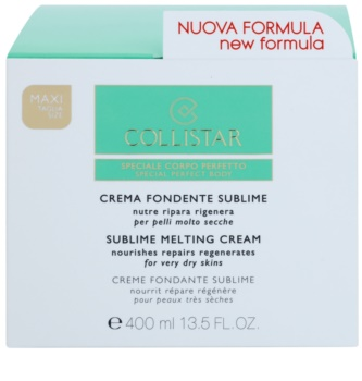 Collistar Special Perfect Body creme nutitivo e refirmante para pele muito seca