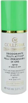 Collistar Special Perfect Body déodorant en spray pour peaux sensibles