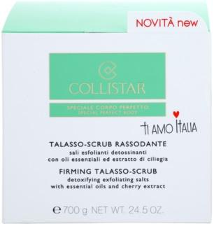 Collistar Special Perfect Body зміцнюючий пілінг для тіла