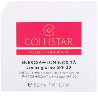 Collistar Special First Wrinkles crema de día  antiarrugas  SPF 20