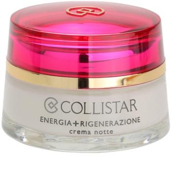 Collistar Special First Wrinkles noční regenerační zpevňující krém pro citlivou pleť