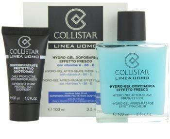 Collistar Man After Shave Gel + feuchtigkeitsspendende Tagescreme für alle Hauttypen