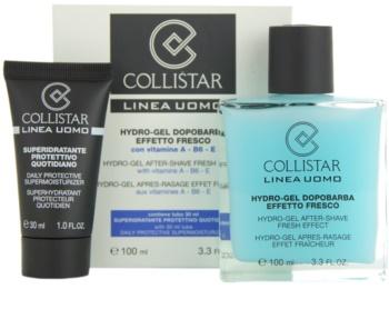 Collistar Man After Shave Gel + Hydraterende Dagcreme  voor alle huidtypen