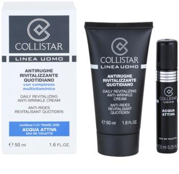 Collistar Man crema de día revitalizante  antiarrugas