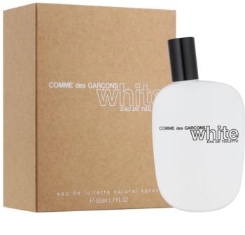 Comme des Garçons White toaletní voda pro ženy 50 ml