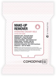 Comodynes Make-up Remover Creamy Milk Cleansing Wipes For Very Dry Skin