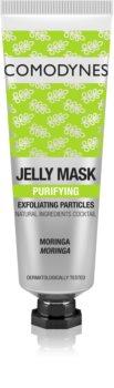 Comodynes Jelly Mask Exfoliating Particles Gelmaske zur gründlichen Reinigung der Haut