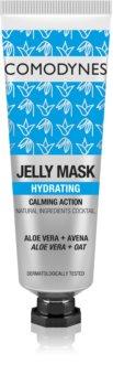 Comodynes Jelly Mask Calming Action feuchtigkeitsspendende Gel-Maske