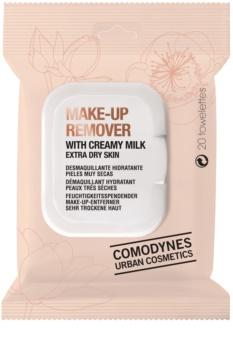 Comodynes Make-up Remover Creamy Milk Abschminktücher für sehr trockene Haut