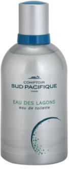 Comptoir Sud Pacifique Eau Des Lagons Eau de Toilette para mulheres 100 ml