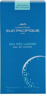 Comptoir Sud Pacifique Eau Des Lagons Eau de Toilette voor Vrouwen  100 ml
