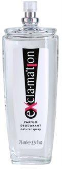 Coty Exclamation deodorant s rozprašovačom pre ženy 75 ml