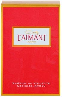 Coty L'Aimant Eau de Toilette Damen 50 ml