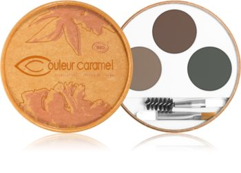 Couleur Caramel Eyebrow Kit palette sourcils